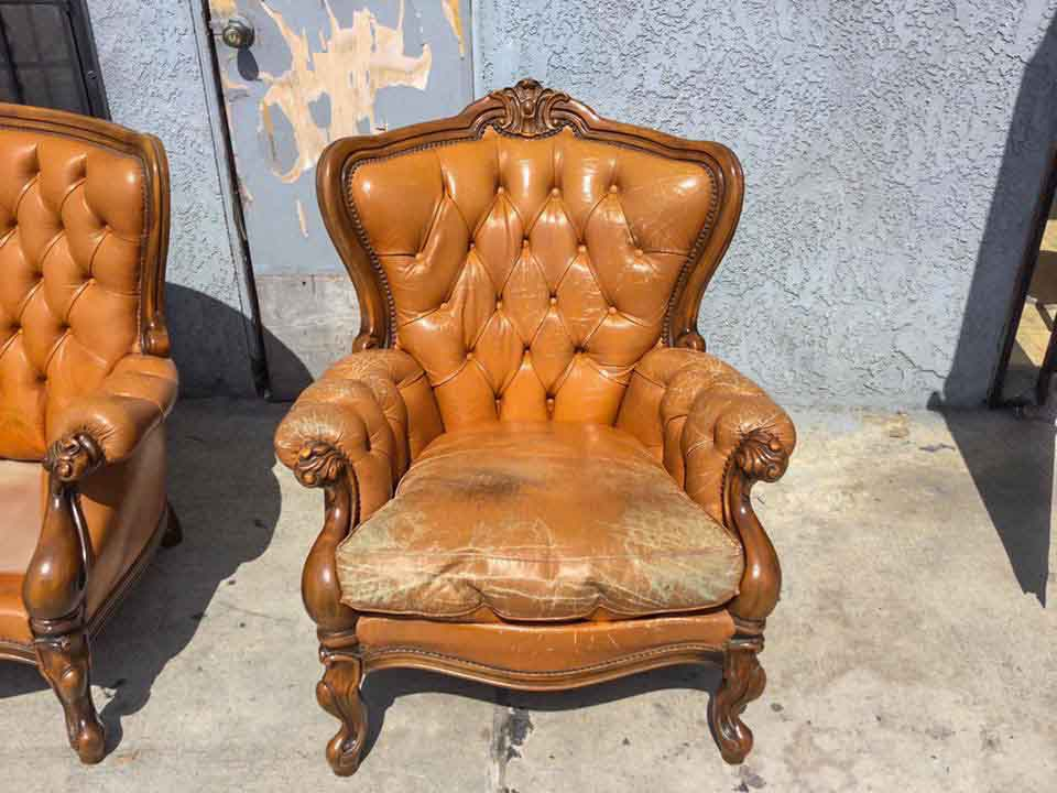 Leather Sitting Chairs & Leather Sitting Chairs u2022 Restoration Reupholstery